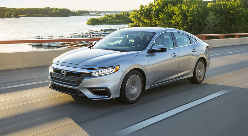 Test Drive Honda Insight 2019