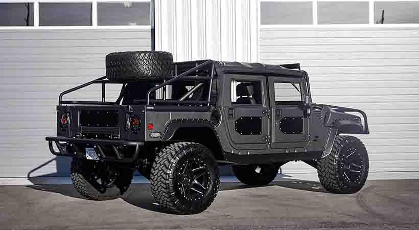 Hummer H1 Launch Edition por Mil-Spec