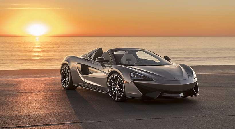 McLaren subasta el 570S Spider