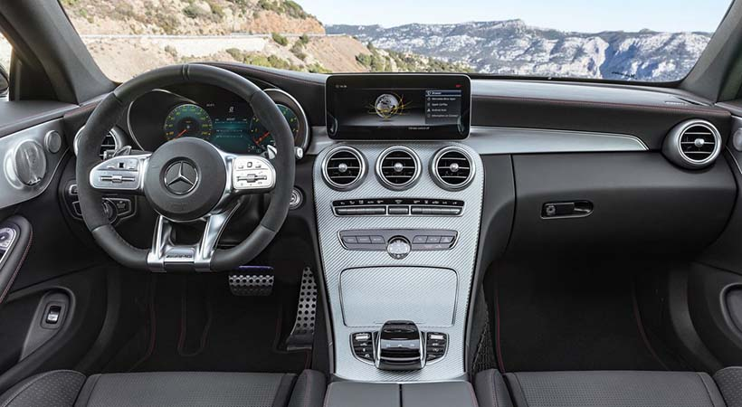 video Mercedes-AMG C43 Coupé