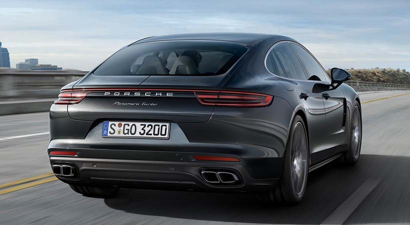 Video Porsche Panamera 2018