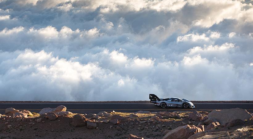 Récord Volkswagen I.D. R en la Pikes Peak