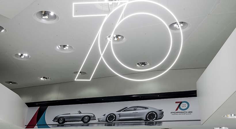 Feliz cumpleaños Porsche 70