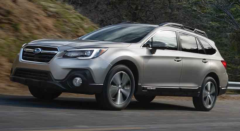 Video Subaru Outback 2.5i Limited 2018