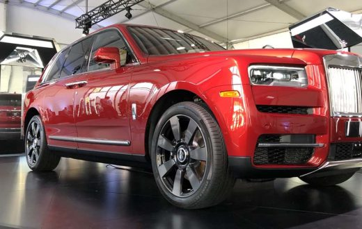 Video Rolls-Royce Cullinan 2019 World Tour