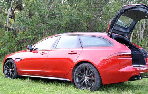 Test Drive Jaguar XF Sportbrake S 2018, lujo, potencia ... en otro estilo