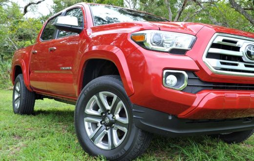 Test Drive Toyota Tacoma Limited 2018