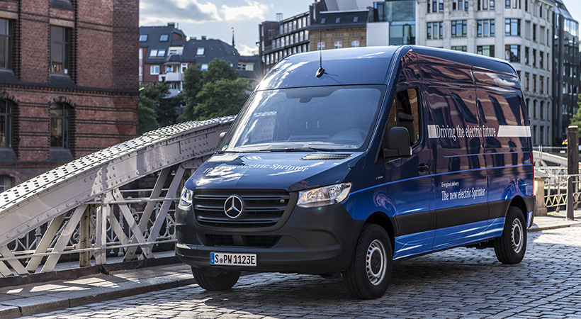 Movilidad comercial eléctrica Mercedes-Benz