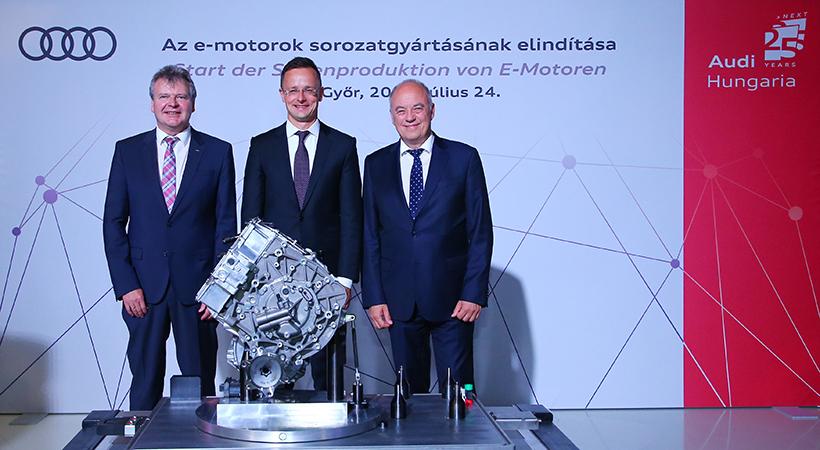 Nueva era eléctrica Audi
