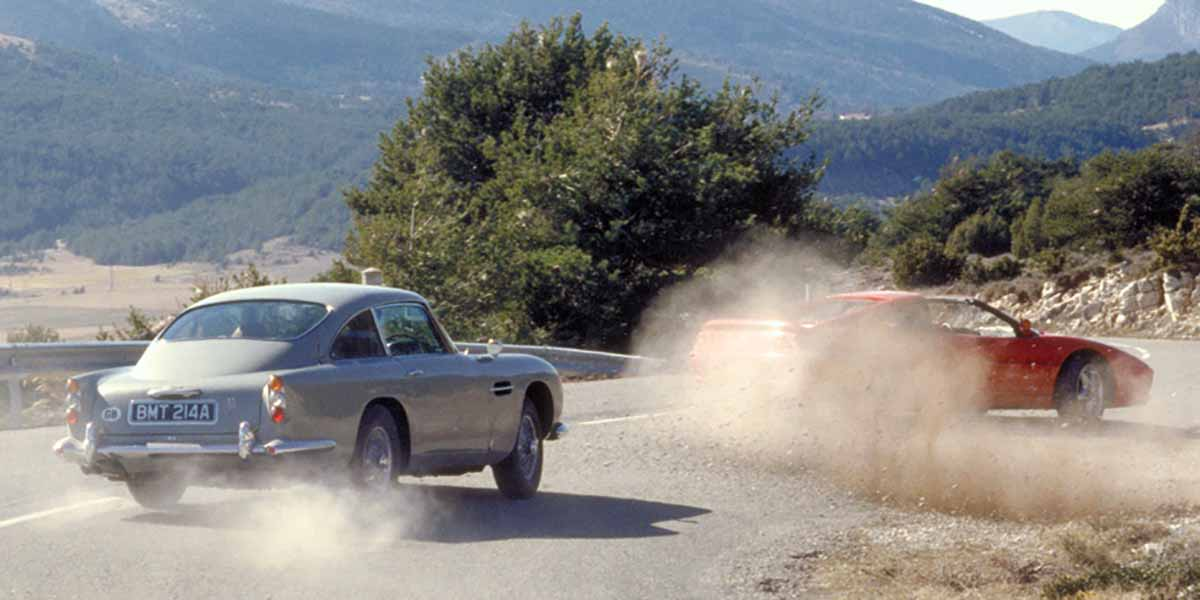 Aston Martin DB5 de James Bond