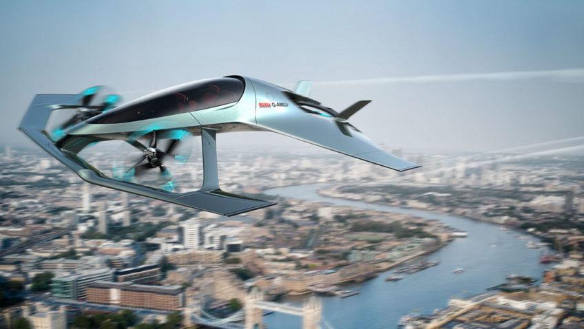 Aston Martin Volante Vision Concept, el auto volador inglés