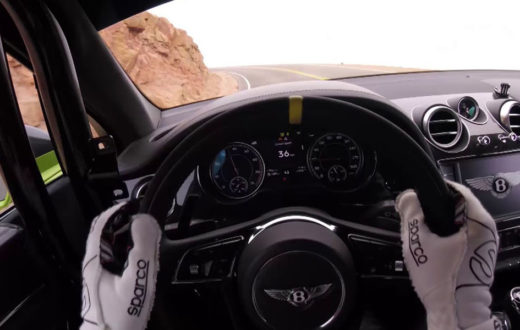 Video, Bentley Bentayga rompe récord en Pikes Peak