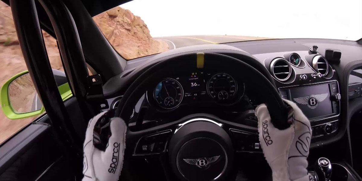 Bentley Bentayga rompe récord en Pikes Peak