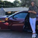 Ronaldo llega a la Juventus y ¿será imagen de Ferrari?