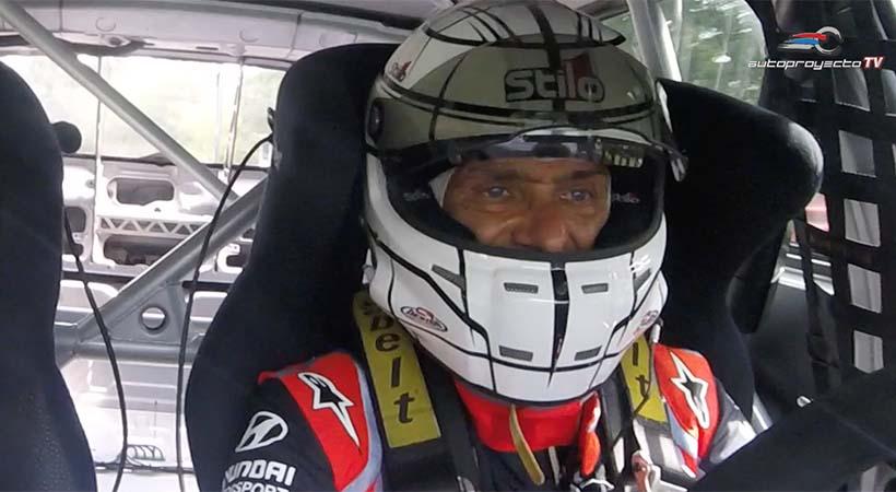 Hyundai i30 N TCR con Gabriele Tarquini