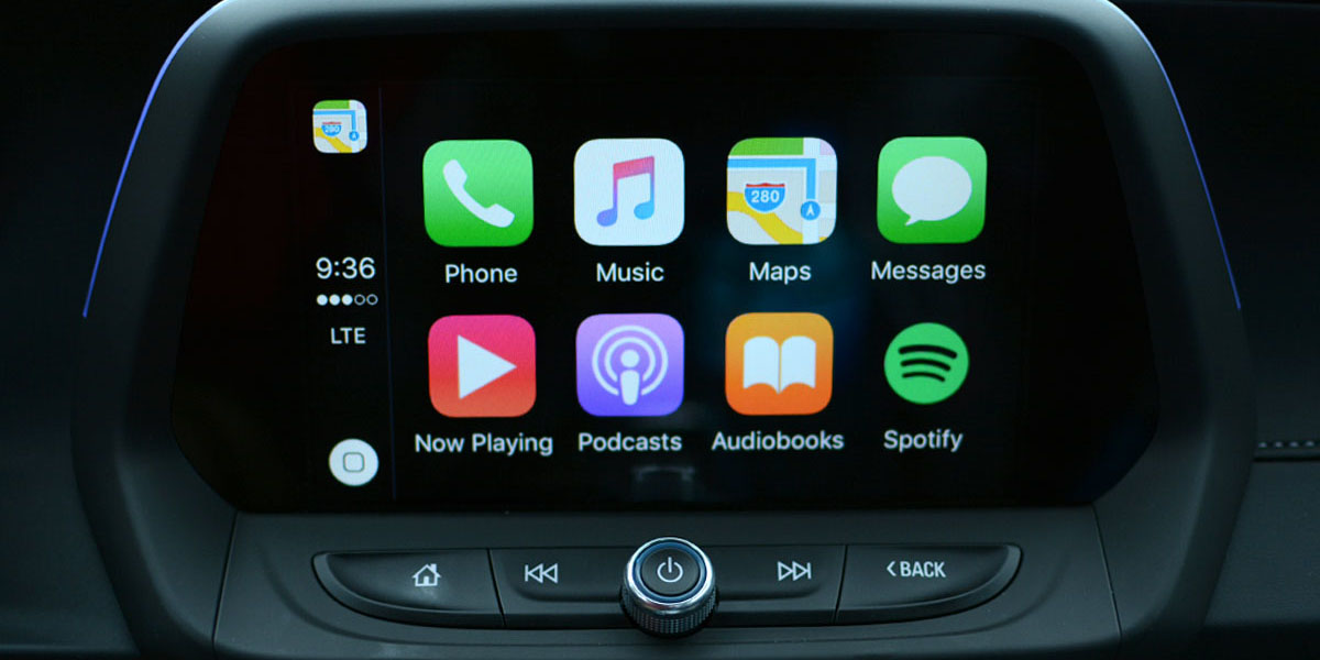 Mazda Apple CarPlay y Android Auto