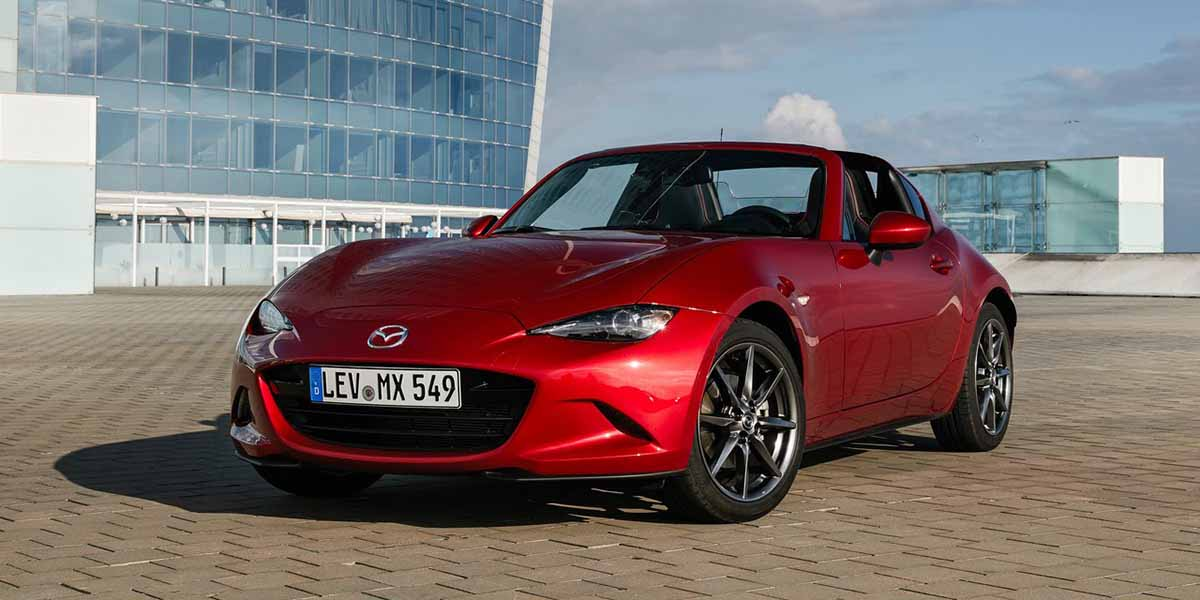 Video Mazda MX-5 Miata RF 2018