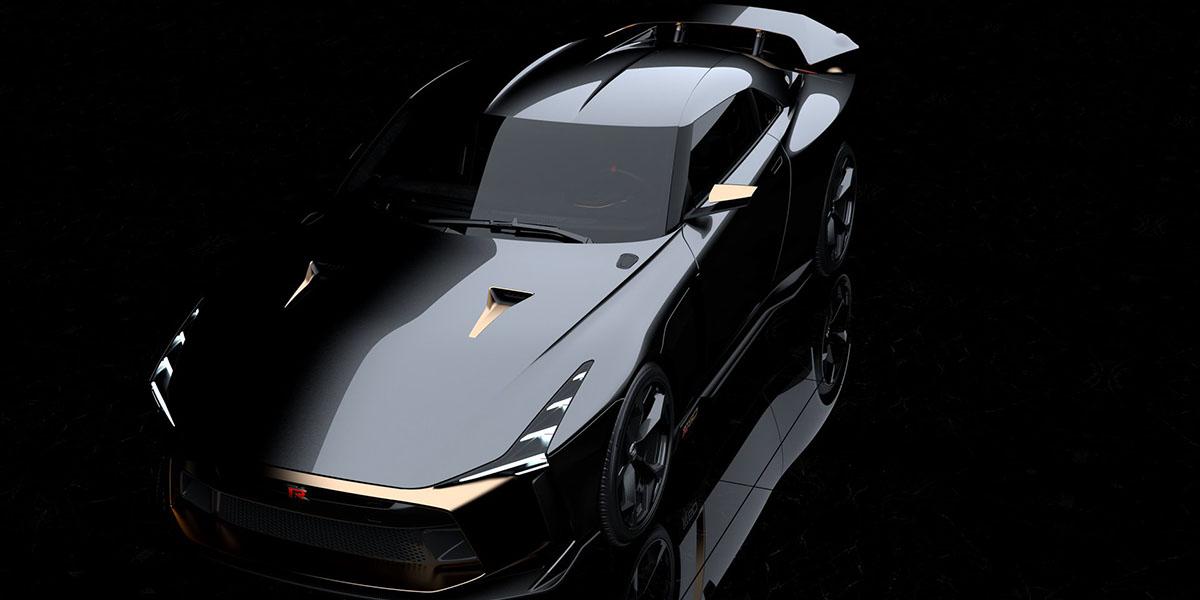 NissanGT-R50 by Italdesign