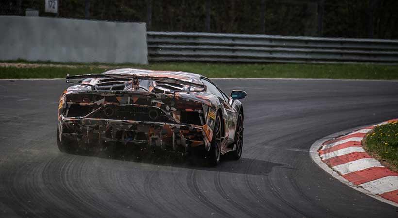Lamborghini Aventador SVJ ya es el auto más rápido de Nürburgring