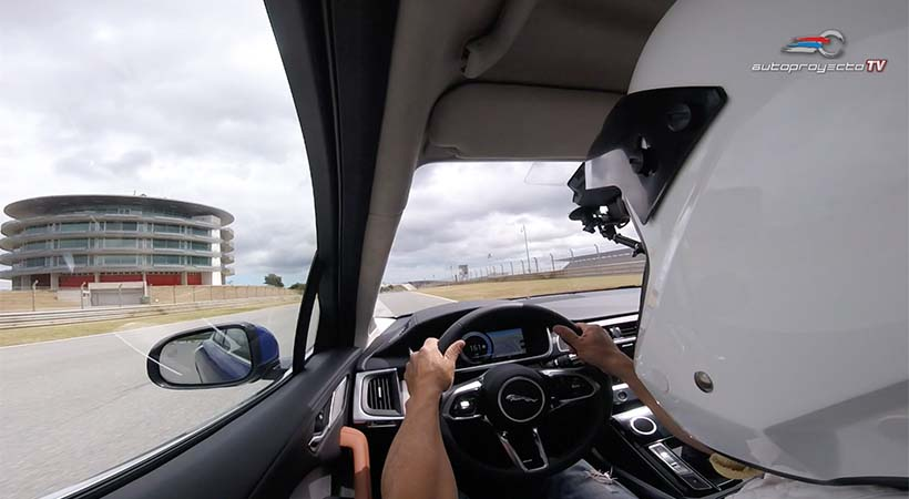 Video Test Drive Jaguar i-Pace 2019 en el Autódromo Internacional De Algarve, Portugal
