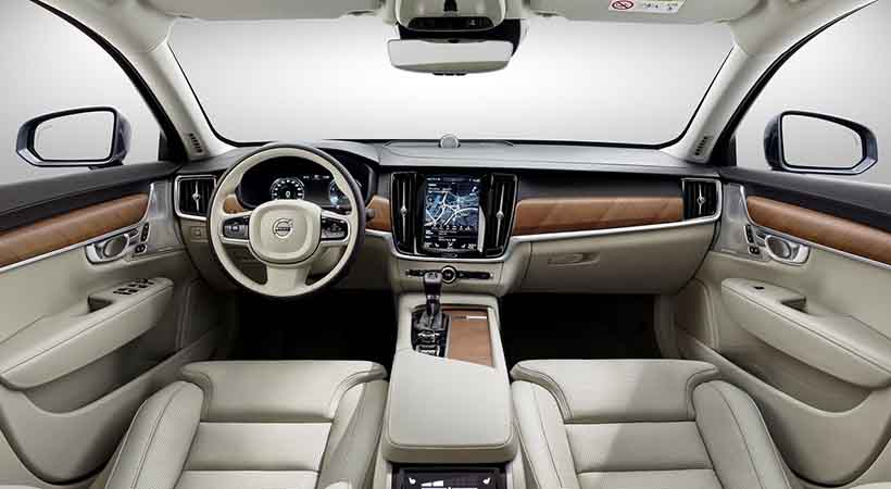 Video Volvo S90 2018