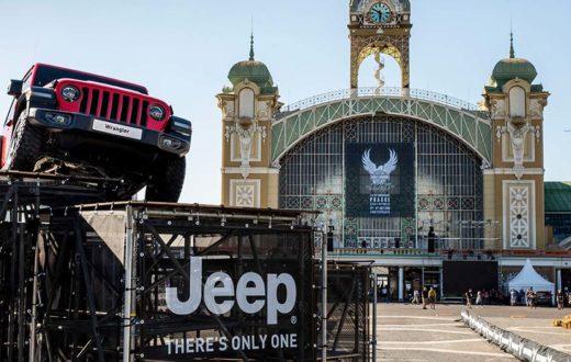 Celebración de libertad y aventura Jeep Harley-Davidson
