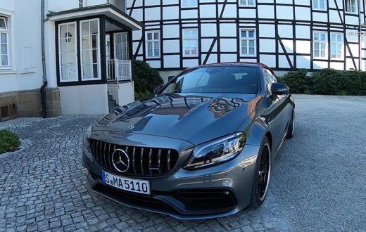 Video Mercedes-AMG C 63 S Cabriolet 2019