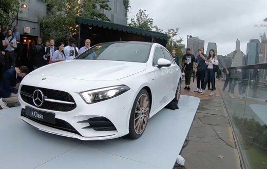 Debut global  Mercedes-Benz A Class 2019 en Brooklyn, New York