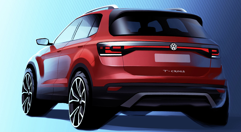 Video Volkswagen T-Cross