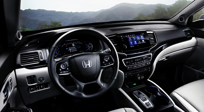 Test Drive Honda Pilot 2019
