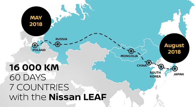 25,749 millas a bordo del nuevo Nissan LEAF