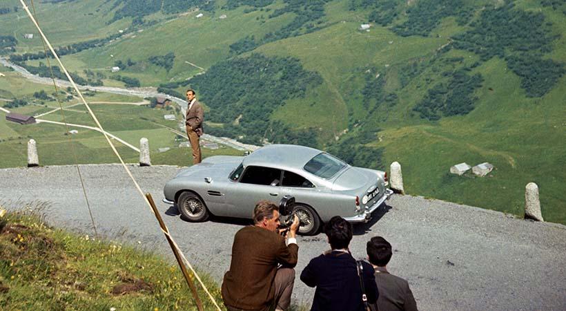 Aston Martin DB5 Goldfinger, edición especial de 25 unidades