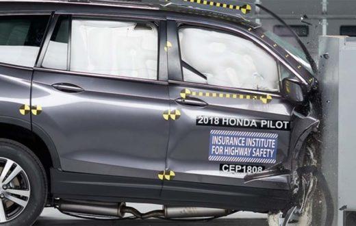 Honda Pilot 2019 Top Safety Pick Plus del IIHS