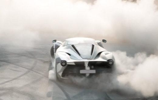 LaFerrari Hace Drifting