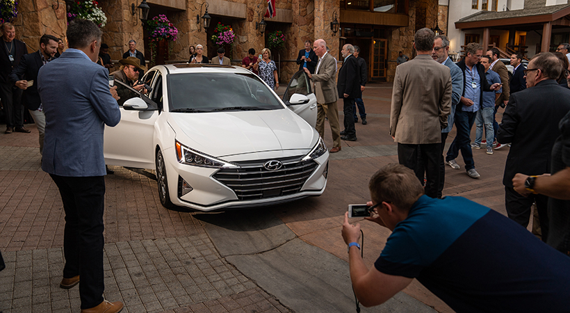 Debut global Hyundai Elantra 2019