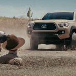 Toyota Tacoma, tan ruda como Chuck Norris
