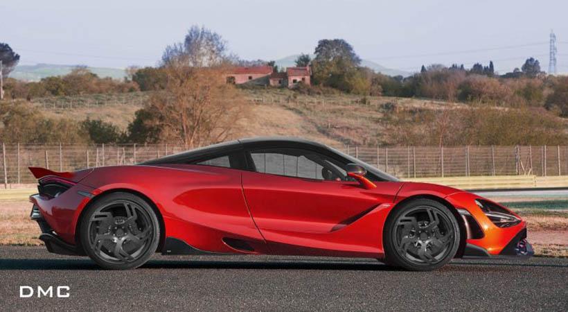 """McLaren 720S """"Rhein"""" por DMC"""