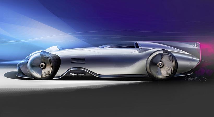Mercedes-Benz EQ Silver Arrow
