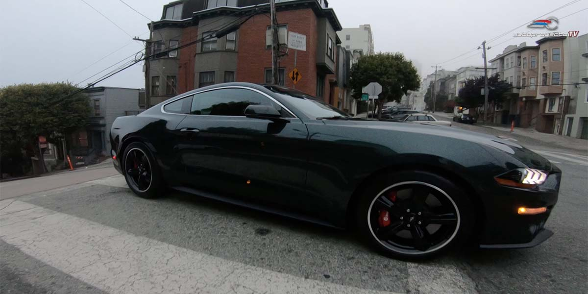 Car Chase Ford Mustang Bullitt Special Edition 2019