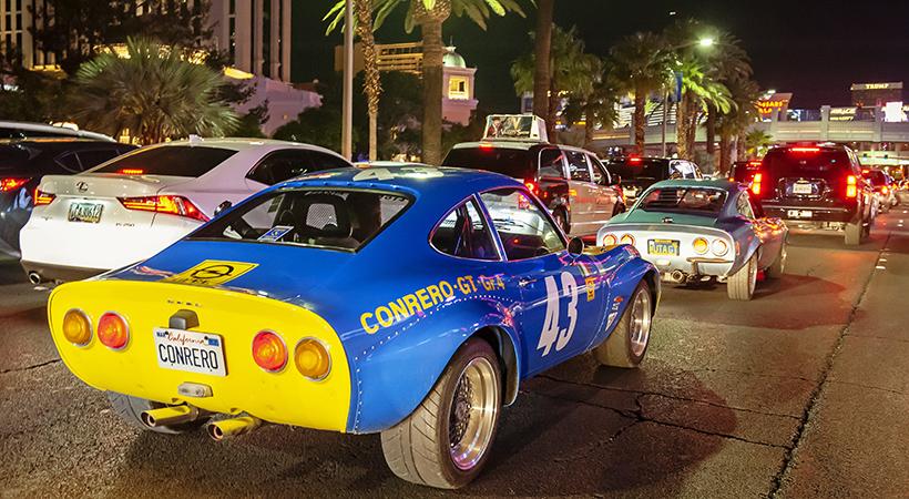 Tour Opel GT 50 Aniversario por Estados Unidos