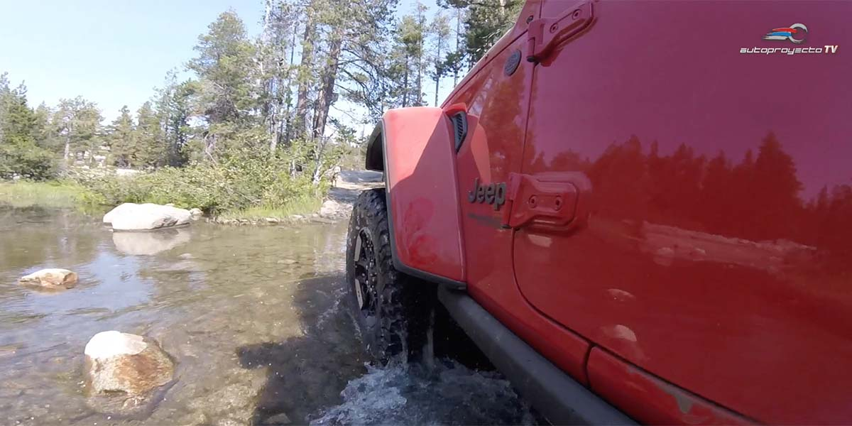 Rubicon Trail con el Jeep Wrangler Rubicon 2018 ... 36 horas sin WiFi