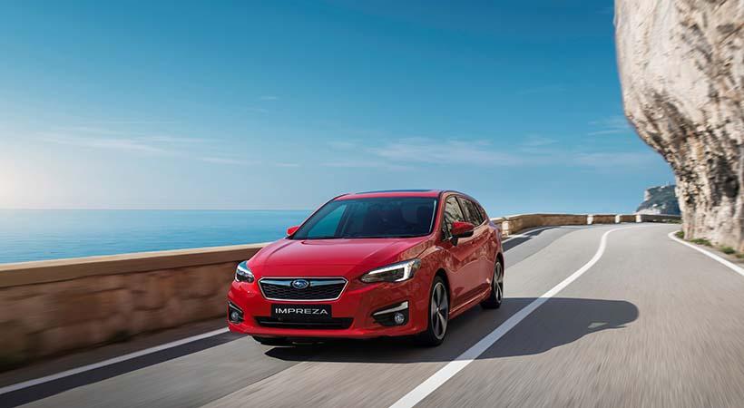 Subaru Symmetrical All-Wheel Drive