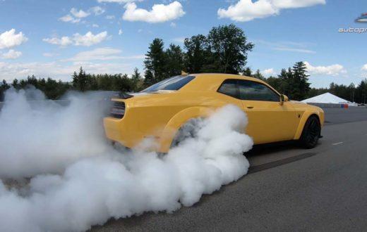 Video Dodge Challenger SRT Hellcat Redeye 2019 con 979 HP