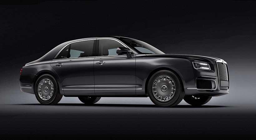Aurus Senat, un auto de súper lujo made in Rusia