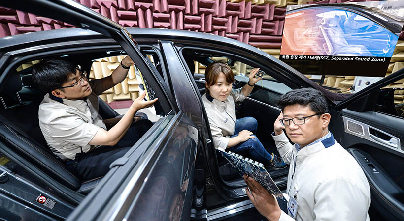 Kia Separated Sound Zone SSZ, el sistema de audio del futuro