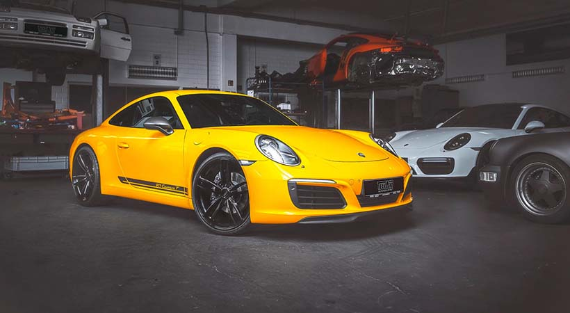 Porsche 911 Carrera T by TechArt