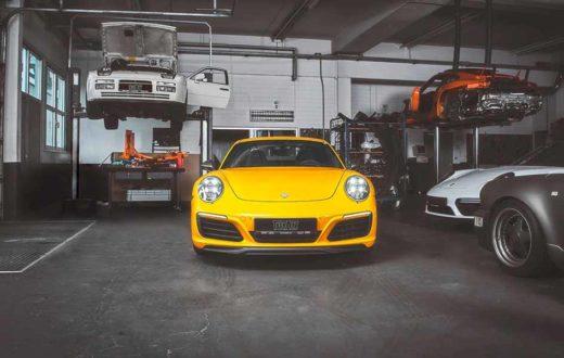 Porsche 911 Carrera T by TechArt, 430 hp listos para la pista
