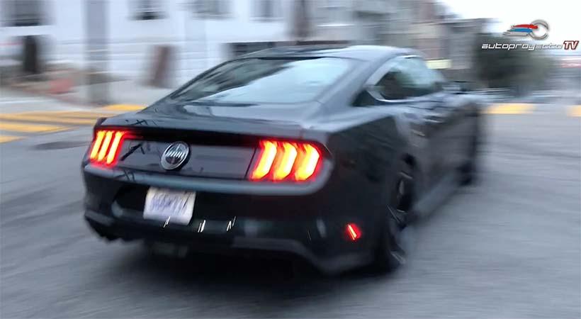 Video, Test Drive Ford Mustang Bullitt 2019 en San Francisco