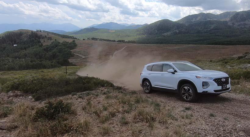 Test Drive Hyundai Santa Fe 2019