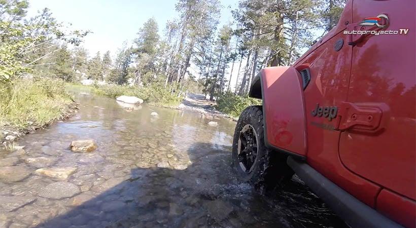 Video Test Drive Jeep Wrangler Rubicon 2018 en el Rubicon Trail